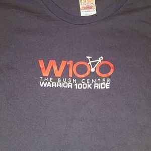 🤴👕🚲 W100 The Bush Center Warrior 100k Ride T
